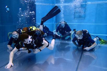 Open Water Diver Tauchkursgruppe